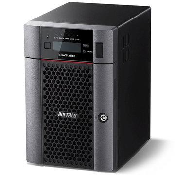 バッファロー 10GbE標準搭載 6ドライブNAS 24TB TS5610DN2406