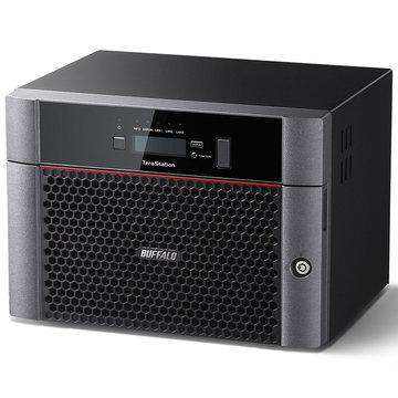 バッファロー 10GbE標準搭載 8ドライブNAS 32TB TS5810DN3208