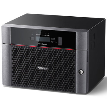 BUFFALO 10GbE標準搭載 8ドライブNAS 32TB TS5810DN3208