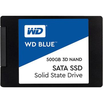 WESTERN DIGITAL WD Blue 3D NAND SSD 500GB SATA 2.5 7mm WDS500G2B0A