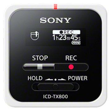 SONY ステレオICレコーダー 16GB ホワイト ICD-TX800/W