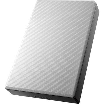 アイ・オー・データ機器 USB3.0対応ポータブルHDD セラミックホワイト 2TB HDPT-UT2DW