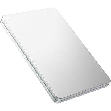 IODATA USB3.0対応ポータブルHDD 2TB Silver×Green HDPX-UTS2S