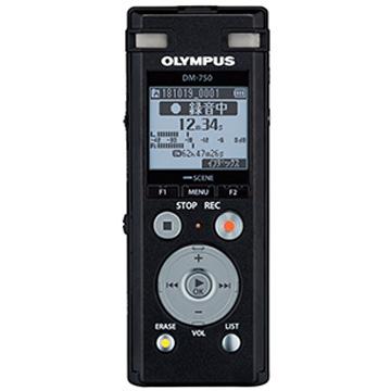 OLYMPUS ICレコーダー Voice-Trek (ブラック) DM-750BLK