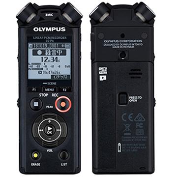 OLYMPUS リニアPCMレコーダー (ブラック) LS-P4BLK