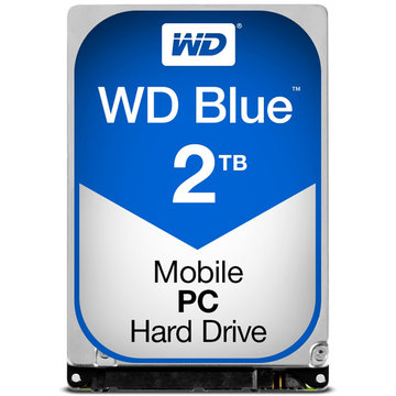 WESTERN DIGITAL WD Blue 2.5インチ 7mm 内蔵HDD 2TB WD20SPZX