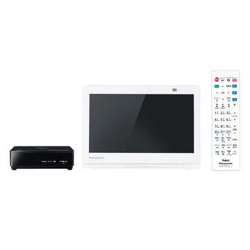 パナソニック ポータブルデジタルテレビ 10V型 (ホワイト) UN-10E8-W