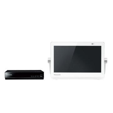 パナソニック HDDレコ付ポータブルデジタルテレビ 10V型 (ホワイト) UN-10T8-W