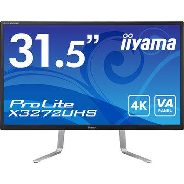 iiyama 31.5型ワイド液晶ディスプレイ X3272UHS ブラック X3272UHS-B1