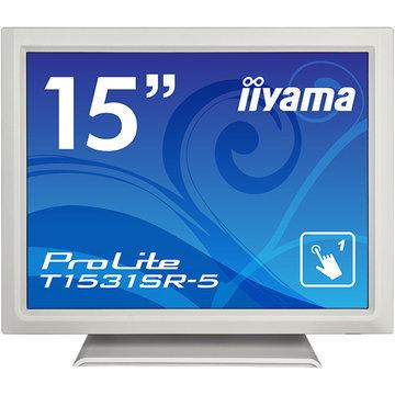 iiyama 15型タッチパネル液晶ディスプレイ T1531SR-5 ホワイト T1531SR-W5