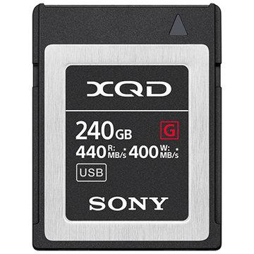 SONY XQDメモリーカード Gシリーズ 240GB QD-G240F