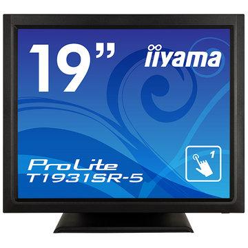 【エントリーでP10倍】 iiyama 19型タッチパネル液晶ディスプレイ T1931SR-5 ブラック T1931SR-B5