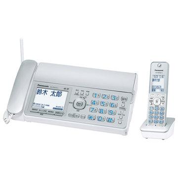 パナソニック デジタルコードレス普通紙FAX(子機1台)(シルバー) KX-PD315DL-S