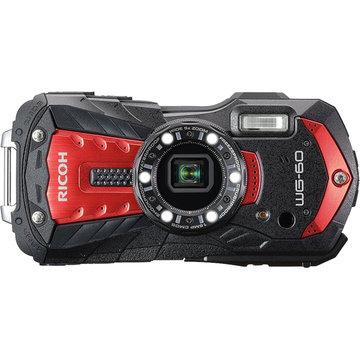 リコー 防水デジタルカメラ WG-60 (レッド) WG-60RD