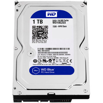 "Western Digital 1TB BLACK 3.5/"" SATA 6GB//s 7200RPM Desktop Hard Drive"
