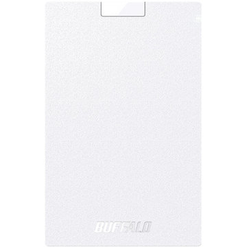 バッファロー USB3.1(Gen1) ポータブルSSD 960GB ホワイト SSD-PG960U3-WA