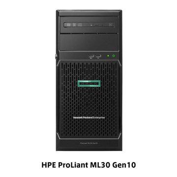 HP ML30G10 E-2124 1P4C8G NHPSATA4LFFS100iGS P06781-291
