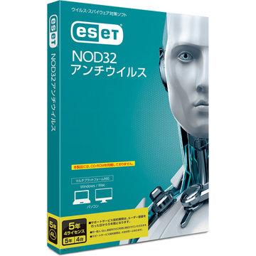 CANON ESET NOD32アンチウイルス 5年4L CMJ-ND12-044