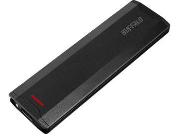 バッファロー USB3.1(Gen2)対応 ポータブルSSD 250GB ブラック SSD-PH250U3-BA
