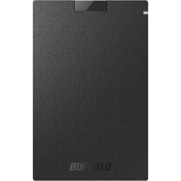 バッファロー USB3.1 ポータブルSSD Type-Cケーブル付 1.9TB SSD-PGC1.9U3-BA