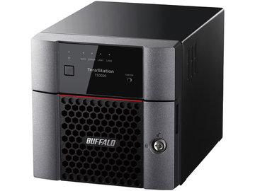 バッファロー TS3220DNシリーズ 2ベイデスクトップNAS 4TB TS3220DN0402