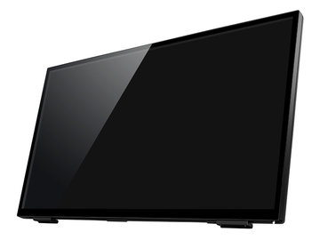 IODATA 「5年保証」10点マルチタッチ23.8型ワイドディスプレイ LCD-MF241FVB-T