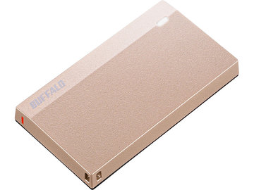 バッファロー USB3.2(Gen1) 超小型ポータブルSSD 960GB ピンク SSD-PSM960U3-SP