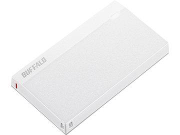 バッファロー USB3.2(Gen1) 超小型ポータブルSSD 960GB ホワイト SSD-PSM960U3-UW