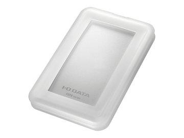 IODATA USB3.1 Gen2対応 ポータブルSSD 2TB ホワイト SSPB-USC2W