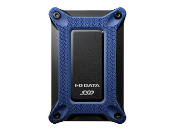 IODATA USB3.1 Gen2 Type-C ポータブルSSD 500GB 群青 SSPG-USC500NB