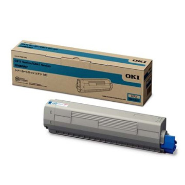 OKIデータ トナーカートリッジ(大) シアン (MC8シリーズ/C8シリーズ) TNR-C3LC2