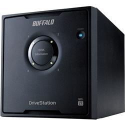バッファロー RAID5 USB3.0用 外付HDD 4ドライブ 8TB HD-QL8TU3/R5J