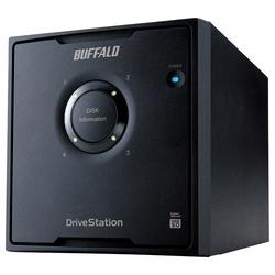 バッファロー RAID5 USB3.0用 外付HDD 4ドライブ 16TB HD-QL16TU3/R5J