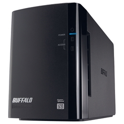 バッファロー ミラーリング搭載 USB3.0用 外付HDD 2ドライブ 8TB HD-WL8TU3/R1J