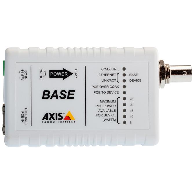 アクシスコミュニケーションズ AXIS T8640 PoE+同軸変換アダプターセット 5026-401
