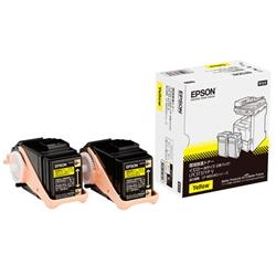 EPSON ページプリンター用 Vトナー/イエロー/Mサイズ2本パック LPC3T31YPV