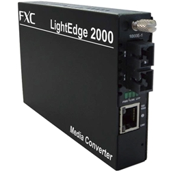 FXC 1000BASE-T to SX MMF550m (SC)メディアコンバータ LE2852-005