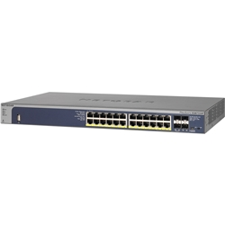 NETGEAR GSM7224P 24ポートPoE+ L2+ ギガフルマネージスイッチ GSM7224P-100AJS