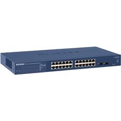 NETGEAR GS724T 24ポート ギガビット スマートスイッチ GS724T-400AJS