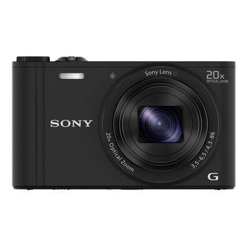 SONY デジタルカメラ Cyber-shot WX350 ブラック DSC-WX350/B