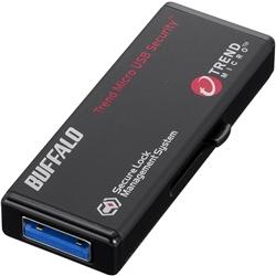 バッファロー USB3.0 セキュリティーUSBメモリー ウイルスチェック 4GB RUF3-HS4GTV
