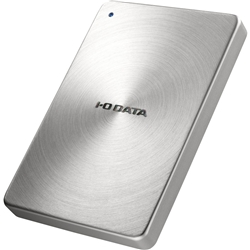 アイ・オー・データ機器 USB3.0 ポータブルHDD 「カクうす」 2TB シルバー HDPX-UTA2.0S