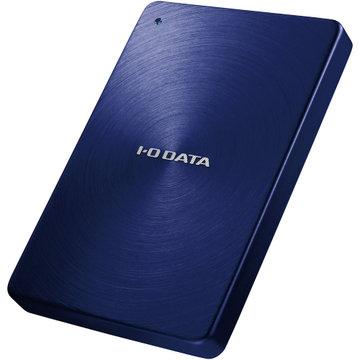 アイ・オー・データ機器 USB3.0対応ポータブルHDD 「カクうす」 2TB ブルー HDPX-UTA2.0B