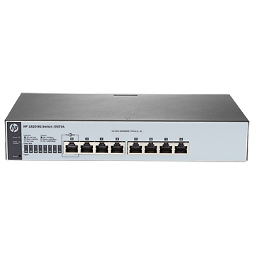HP HPE 1820 8G Switch JP en J9979A#ACF