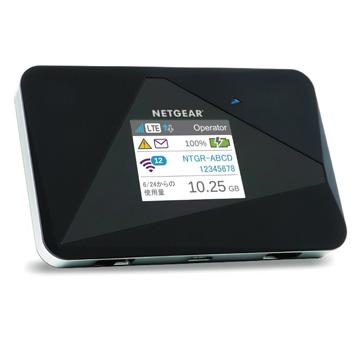 【期間限定 エントリーでP10倍】 NETGEAR エアカード AC785 (SIMフリー LTE モバイルルータ) AC785-100JPS
