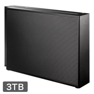 アイ・オー・データ機器 USB3.0/2.0対応 外付HDD 3TB ブラック EX-HD3CZ