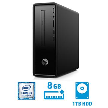 HP HP Slim 290-a(i3-8100/メモリ8GB/HDD1TB)3JV83AA-AAAA 3JV83AA-AAAA