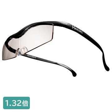 【枚数限定クーポン発行中!】 Hazuki ハズキコンパクト カラーレンズ1.32倍 黒(2017年) SmartHazukiBL-BK