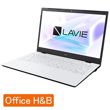 【エントリーでP10倍】 NEC (オフィス付) LAVIE Smart HM Corei7 8GB SSD256GB パールホワイト PC-SN186RADG-D