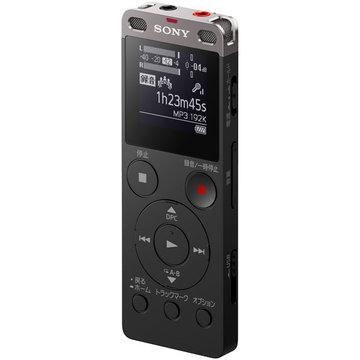 SONY ステレオICレコーダー FMチューナー付 8GB ブラック ICD-UX565F/B